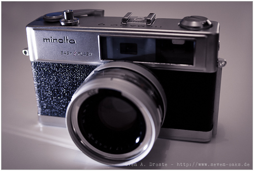 Mein Schätzchen: Minolta Hi-Matic 9