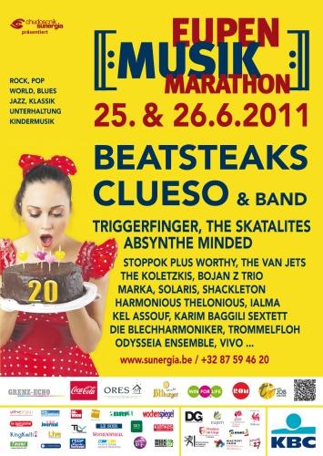 EMM 2011 - 20 Jahre Eupen Musik Marathon