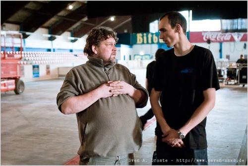 Die Macher. Dirk und Paul von ProTon.