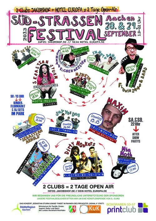 plakat-suedstrassenfest2013Südstrassen Festival 2013